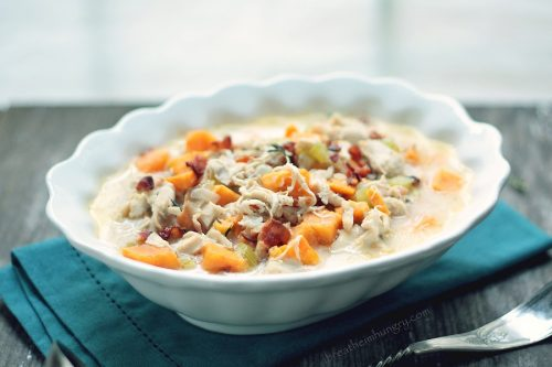 gluten free chowder recipe for turkey leftovers