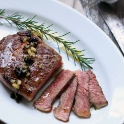 low carb steak recipe from I Breathe I'm Hungry
