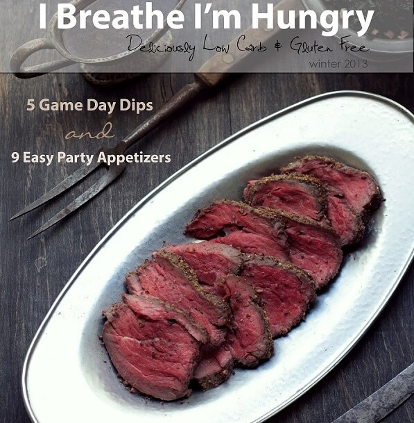low carb and gluten free recipes from mellissa sevigny of I Breathe I'm Hungry