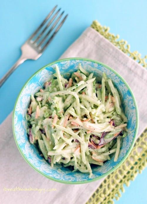 Low Carb broccoli slaw recipe by mellissa sevigny