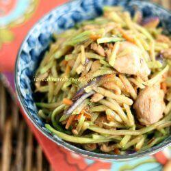 Keto Stir Fry Recipe from Mellissa Sevigny of I Breathe Im Hungry