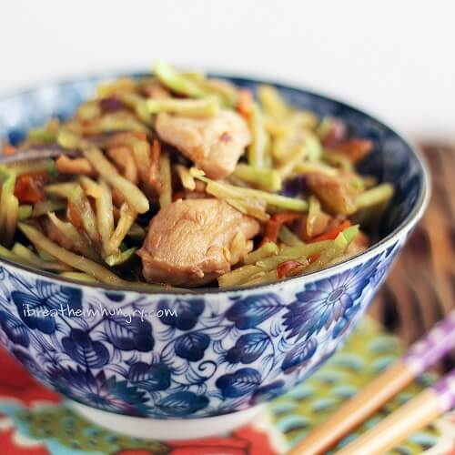 Low Carb Chicken Stir Fry Recipe from I Breathe Im Hungry