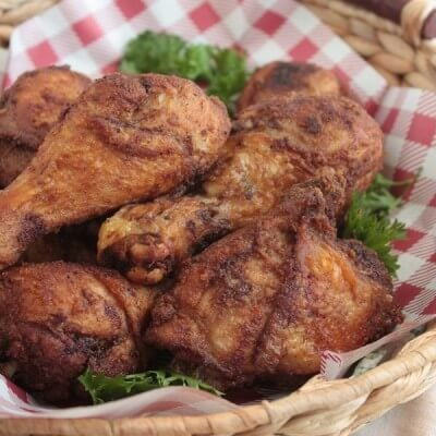 air fryer fried chicken thighs low carb