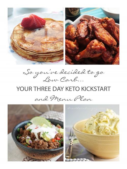 keto menu plan from I Breathe I'm Hungry