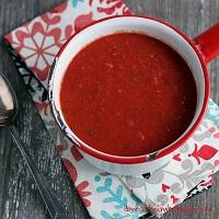 Keto friendly marinara sauce from mellissa sevigny of I Breathe I'm Hungry