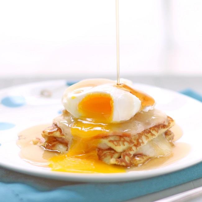 Monte Cristo Breakfast Casserole (Low Carb and Gluten Free)