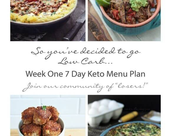 7 day menu plan for keto or atkins diet by mellissa sevigny of I breathe I'm hungry