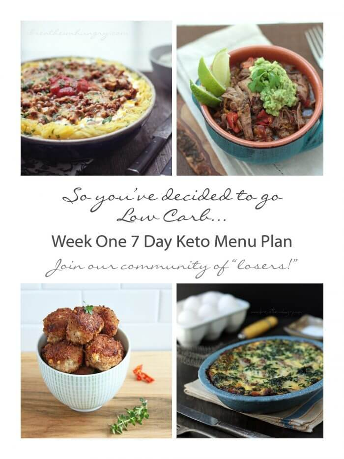 Week One Keto Low Carb 7 Day Meal Plan Progress I Breathe I M Hungry