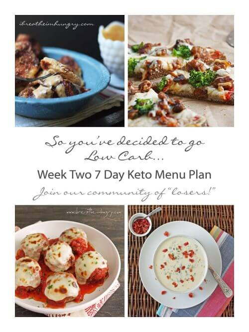 7 day keto menu plan from mellissa sevigny