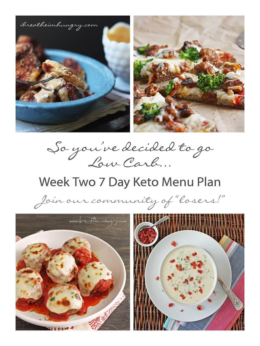 Week Two Keto (Low Carb) 7 Day Meal Plan and Progress | I ...