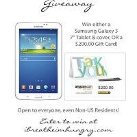 IBIH Samsung Tablet Giveaway