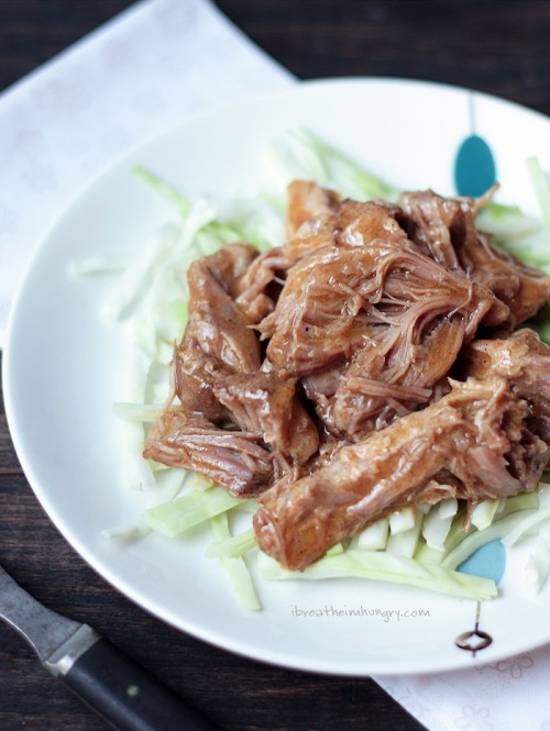 Low Carb and Keto Pulled Pork Recipe from I Breathe I'm Hungry