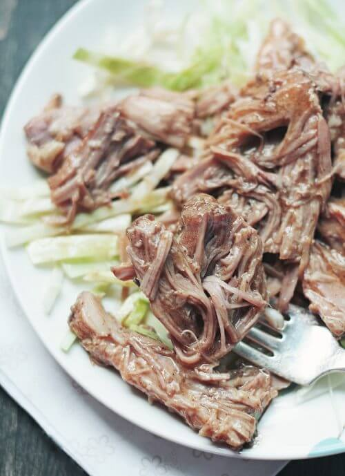 I Breathe I'm Hungry recipe for pulled pork low carb