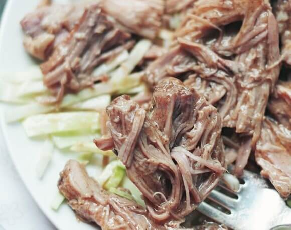Slow Cooker Pulled Pork Recipe – Low Carb and Gluten Free