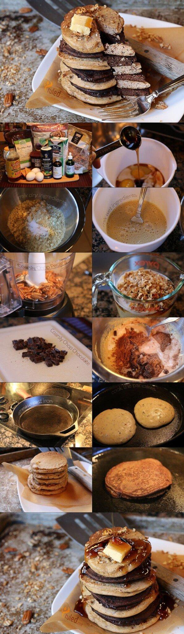 Keto Pancake Recipe Instructions