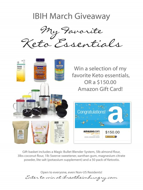 keto giveaway from i breathe Im Hungry