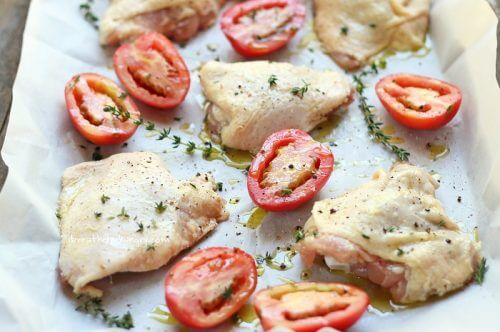 Low Carb Chicken Recipe from Mellissa Sevigny at I Breathe Im Hungry