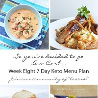 Weekly low carb menu plans by I Breathe I'm Hungry