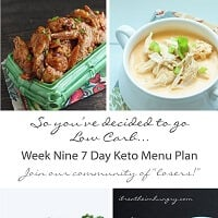 Weekly low carb menu plans from i breathe Im hungry