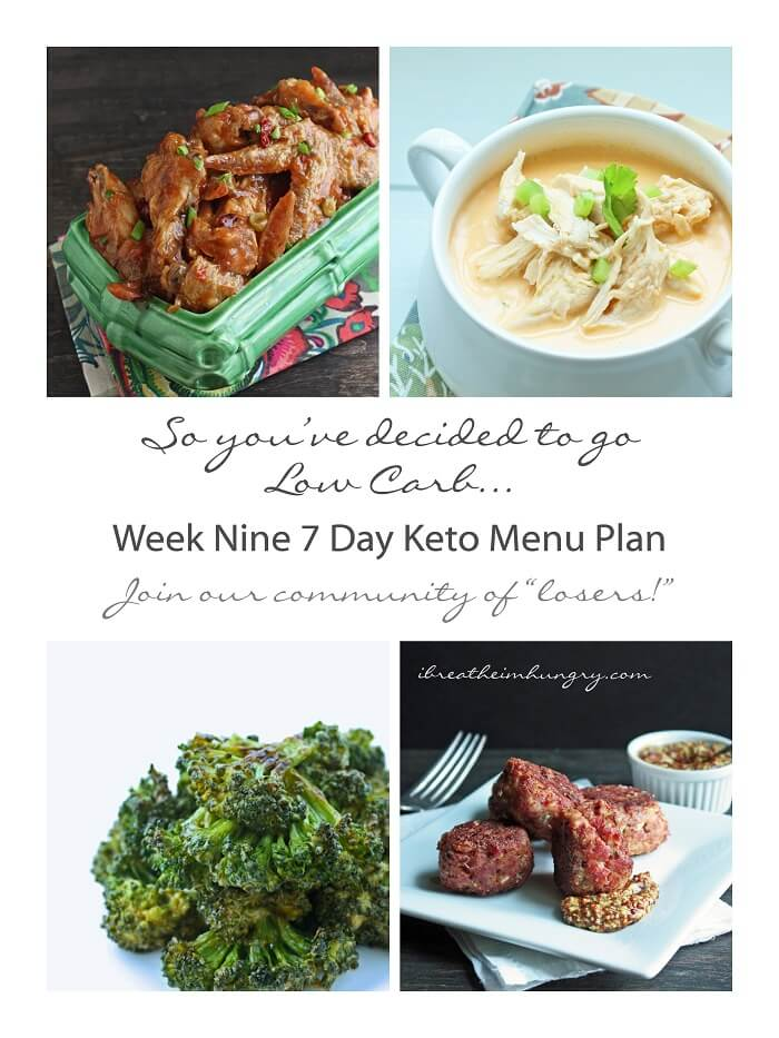 Keto Menu Plans | I Breathe I'm Hungry