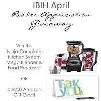 I Breathe Im Hungry is giving away a Ninja system in April