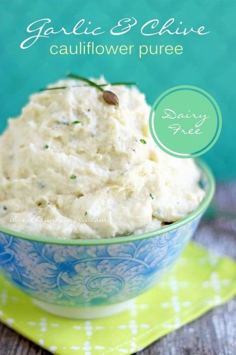 Dariy Free Keto Cauliflower Puree recipe from I Breathe Im Hungry