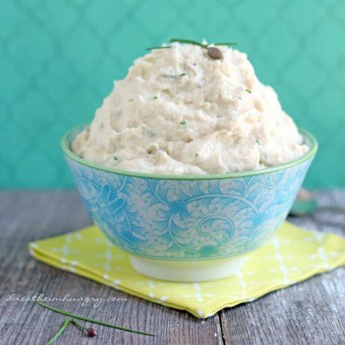 low carb and dairy free side dish recipe from I Breathe Im Hungry