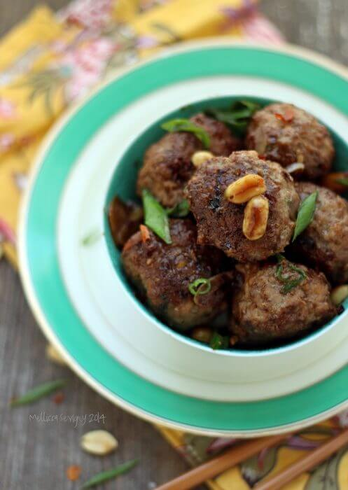 Low Carb meatball recipe from Mellissa Sevigny