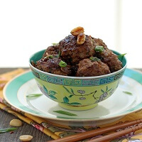 Kung Pao Meatball Recipe Low Carb and Gluten Free