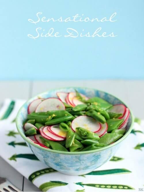 Radish and Snap Pea Salad
