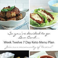Free weekly low carb menu plan from Mellissa Sevigny from I Breathe Im Hungry