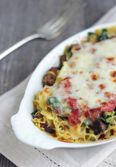 Keto friendly main dish recipe from Mellissa Sevigny of I Breathe Im Hungry