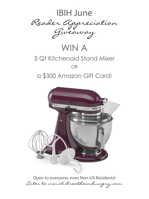 Kitchenaid Giveaway from I Breathe Im Hungry
