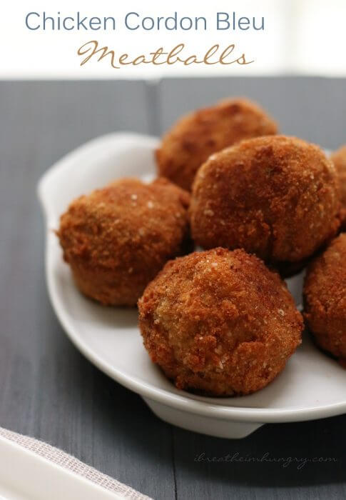 A keto and atkins diet friendly meatball recipe from I breathe im hungry