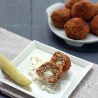 A keto and atkins friendly meatball recipe from mellissa sevigny of I breathe im hungry