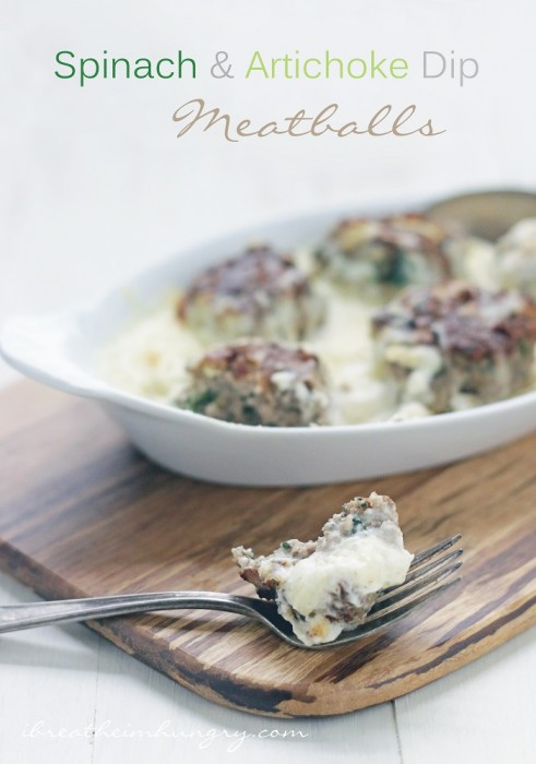 A low carb and gluten free meatball recipe from I Breathe Im Hungry