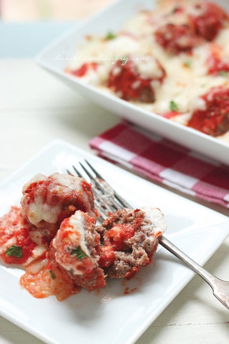 A lchf and gluten free meatball recipe from Mellissa Sevigny of I Breathe Im Hungry