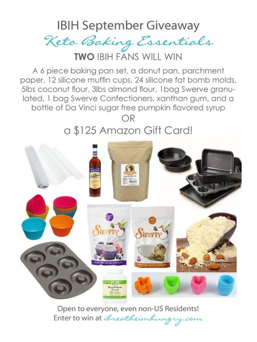 A giveaway of Keto Essentials from I Breathe Im Hungry