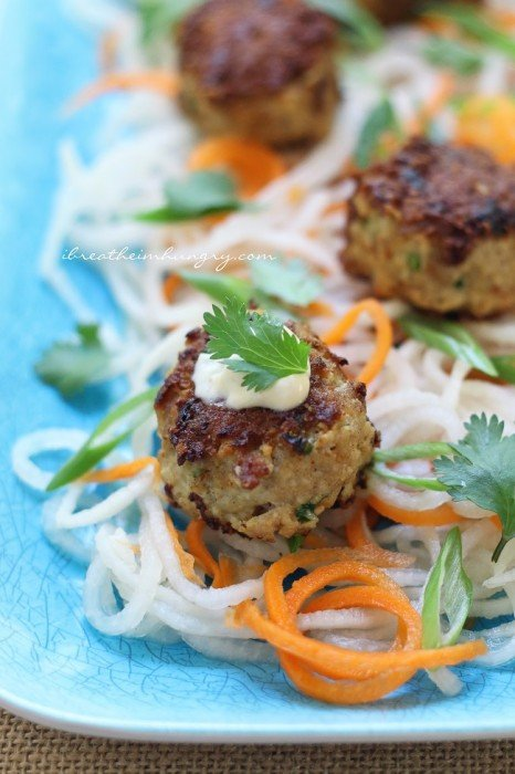 A lchf and atkins friendly meatball recipe from Mellissa Sevigny of I Breathe Im Hungry