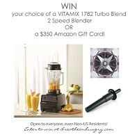 I Breathe Im Hungry is giving away a Vitamix Blender!
