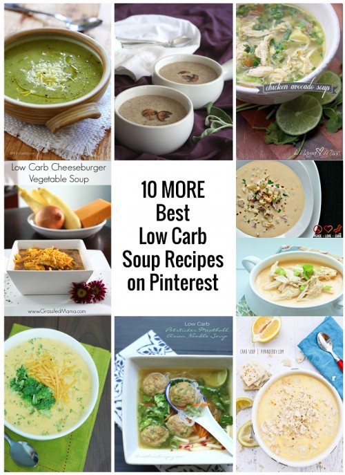 a curated list of low carb soup recipes from mellissa sevign of I Breathe Im Hungry