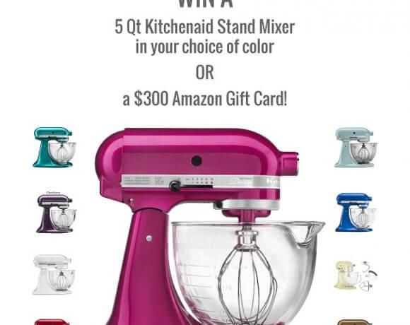 November KitchenAid Stand Mixer Giveaway