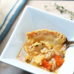 A low carb pot pie recipe from Mellissa Sevigny of I Breathe Im Hungry