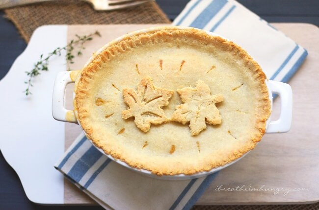 A keto pot pie recipe from Mellissa Sevigny of I Breathe Im Hungry