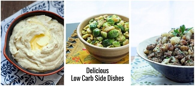 Low carb side dish recipes from I Breathe Im Hungry