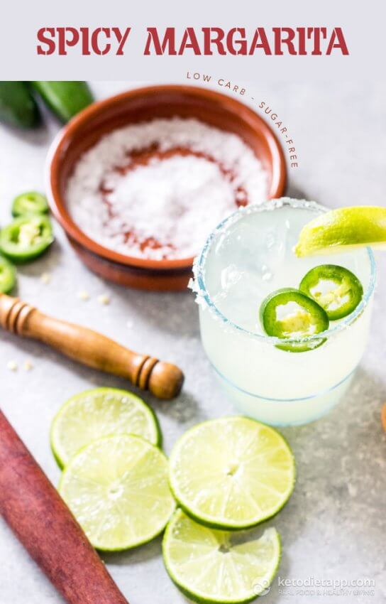 Best Keto Spicy Margarita