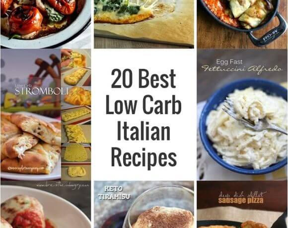 20 Best Low Carb Italian Recipes on Pinterest