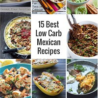 A low carb mexican recipe roundup from Mellissa Sevigny of I Breathe Im Hungry