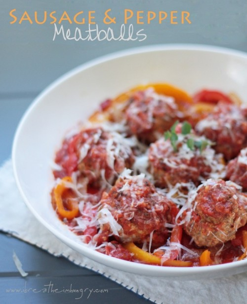 a low carb italian recipe from Mellissa Sevigny of I Breathe Im Hungry