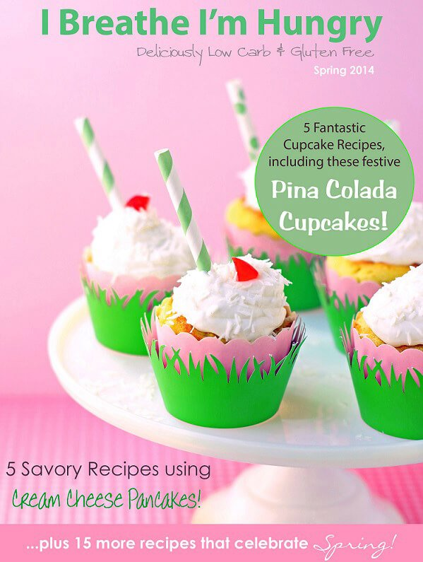 A low carb cookbook from Mellissa Sevigny of I Breathe Im Hungry